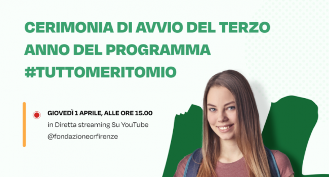 #TuttoMeritoMio 3, in arrivo la cerimonia di avvio della terza edizione del programma